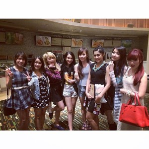 ryn chibi at premiere my brother idiot