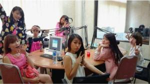 rynchiibi at promo radio JKT (8)